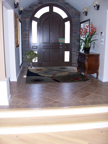ceramic flooring installation
