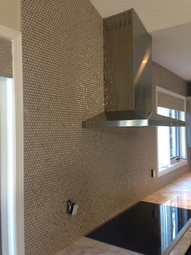 ceramic mosaic kitchen backsplash